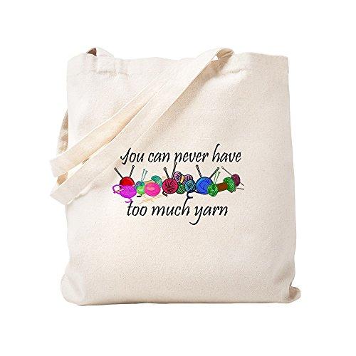 CafePress–Garn–Leinwand Natur Tasche, Reinigungstuch Einkaufstasche, Canvas, Khaki, S