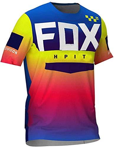 Maillot MTB Trek Men's Downhill Jerseys hpit Fox Mountain Bike MTB Shirts...