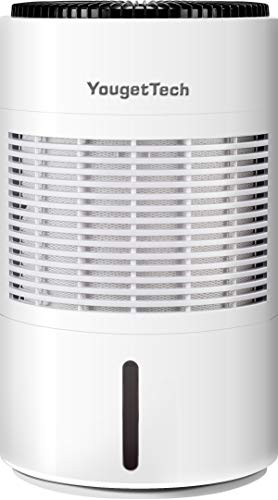 YougetTech Digital Whole-House Portable 4-Speed Constant Humidity Evaporative Humidifier with Washable Filter for Home Office Bedroom, Auto Shut Off, 4-Gallon High Capacity, White