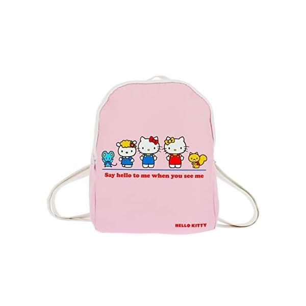 41SihMK2uaL. SS600  - Hello Kitty Essential - Mini mochila | piel sintética | correas ajustables | Hello Kitty & Friends Rosa