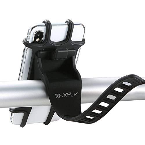 SCOC Soporte Universal para Teléfono De Bicicleta Soporte para Teléfono De Montaje En Manillar De Bicicleta con Hebilla Ajustable Montaje Móvil