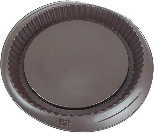 Lurch 85007 Flexiform Obstboden / Backform aus 100% BPA-freiem Platin Silikon, 28cm