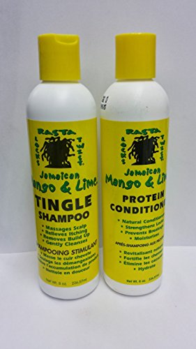 DREAD HEAD DREAD LOCK MANGO & LIME PROTEIN CONDITIONER & TINGLING SHAMPOO *DEAL* by Jamaican Mango & Lime