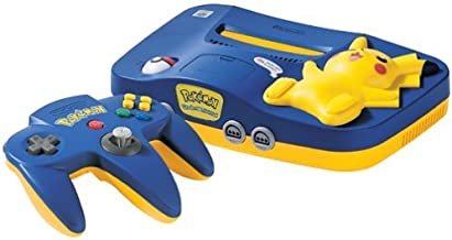 Nintendo 64 System - Video Game Console - Pikachu Version