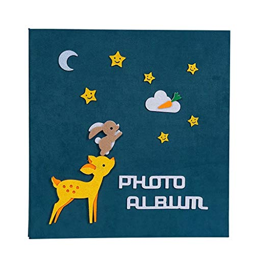 Album de bébé Bricolage Manuel Album de Film Autocollant Album de Croissance pour Enfants 34X33X3cm