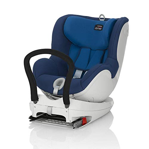 Britax Römer Kindersitz 0 - 4 Jahre I 0 - 18 kg I DUALFIX Autositz Gruppe 0+/1 I Ocean Blue