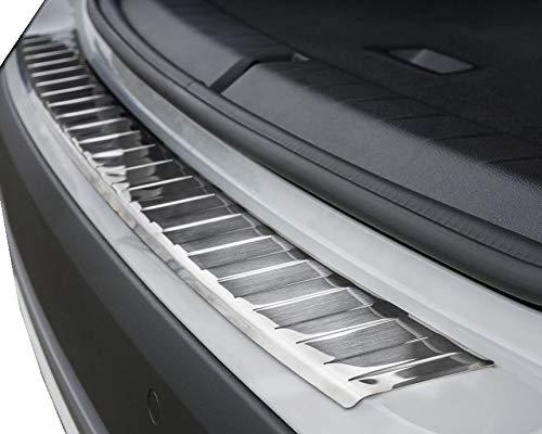 Fahrzeugspezifischer Ladekantenschutz aus Edelstahl mit 3D Abkantung AZ29000026