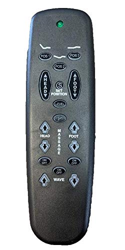 Leggett & Platt Adjustable Bed Replacement Remotes, All Models and Styles (Generic)