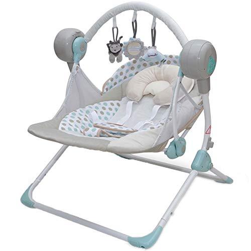 Baby Bites GOUO@ Hamacas para bebés Balance Mecedora Infantil Mecedora eléctrica Reclinable...