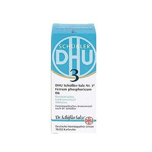 DHU Schüßler-Salz Nr. 3 Ferrum phosphoricum D6 Tabletten, 420 St. Tabletten