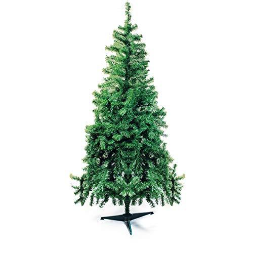 Árvore de Natal com Base Plástica, Portobelo, Verde, 250 Hastes, 1.20m, Cromus