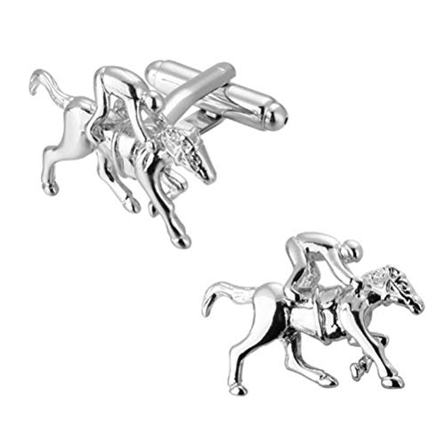 Gemelos Para Hombres, Premium Silver Series Animal Racing Cobre Manguito Francés Hebilla,...