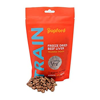 Freeze-Dried Training Treats for Dogs 450 Treats Per Bag Low Calorie The Perfect High Value Training Reward  Comes in Beef Liver & Sweet Potato   Liver