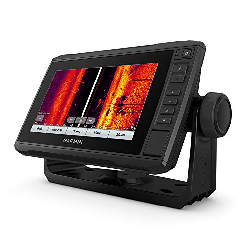 Garmin ECHOMAP UHD 73sv with GT56UHD-TM Transducer, 7   Keyed-Assist Touchscreen Chartplotter with U.S. LakeVü g3 and Added High-Def Scanning Sonar (010-02519-01)