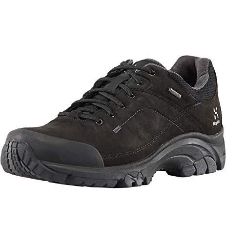 Haglöfs Ridge GT, Zapatillas de Senderismo Mujer, Negro (True Black 2c5), 43 1/3 EU