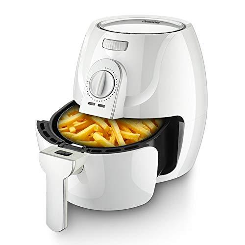 Air Vital Heißluft Fritteuse Fritteuse Air Fryer 1400 W 2,6 L Füllmenge Fett-Frei Frittieren Backen Grillen Rösten Ceraplus Anti-Haft-Beschichtung