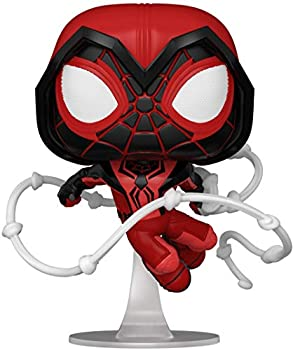 Funko Pop! Games  Marvel's Spider-Man  Miles Morales - Miles Red Suit