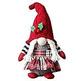 Navidad GNOME, Hecha a Mano Santa Rosal Lámparas Sin Rosca Navegación Elf Figurines Gonk Dwarf Cuadro Cuadro Chimenea Decoraciones Estilo 1