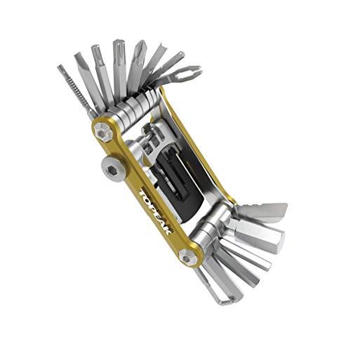 Topeak Unisex– Erwachsene Mini PT30 Multitool, Gold, 7,4 x 4 x 1,9 cm