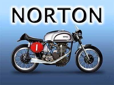 Norton Manx motor bicicleta. Isla de Hombre TT. Británico Motor ...