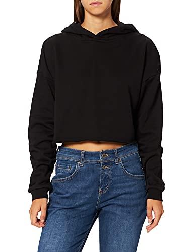 Urban Classics Ladies Oversized Cropped Hoody, Sudadera con Capucha para Mujer de Gran tamaño, XL