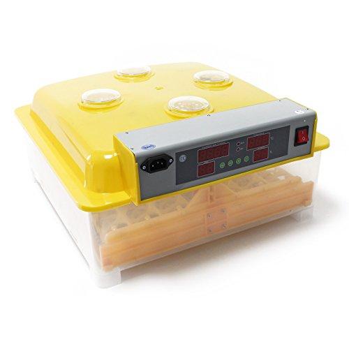 Wiltec Automatische Brutmaschine Inkubator für 56 Eier