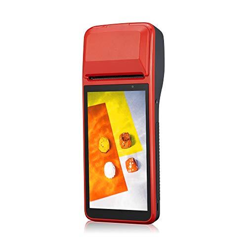 SVANTTO Android 7.1-58mm Thermodrucker POS-Belegdrucker-Betriebssystem, 5,45-Zoll-Touchscreen, Unterstützung von 4G, Wi-Fi-Netzwerk, kompatibel mit 98% -Apps