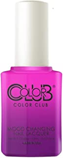 Color Club Mood Changing Nail Lacquer - Tie Dye, Oh My! - 15 mL/0.5 fl oz