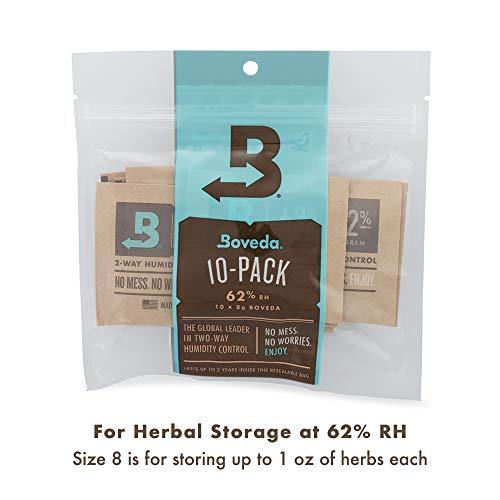 Boveda 8g 2-Way Humidity 62% (10/Pack)