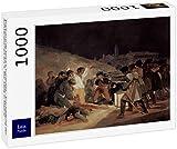Lais Puzzle Francisco de Goya y Lucientes - Tiroteo de los insurgentes el 3 de Mayo de 1808 en Madrid 1000 Piezas