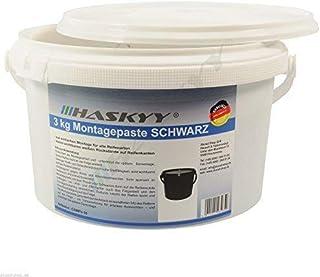 3 kg SCHWARZ däckmonteringstapp däckmonteringspast monteringsvaxdäck