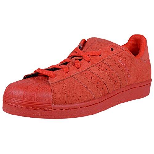 adidas Superstar RT Originals Rot/Rot/Rot-Basketball-Schuh 11 Us
