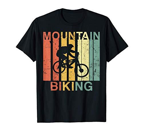 Vintage Mountain Biking Mountain Bike For MTB Bikers T-Shirt