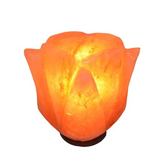 Luminaires & Eclairage/Luminaires intérieur/EC Lumière de sel Rose créative Lampe de sel de Cristal de Nuit créative décoration Chambre Lampe de Nuit Lampe de sel de Cristal de l'Himalaya, sculpté