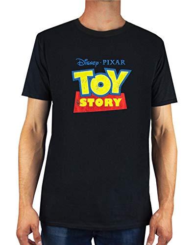 Camiseta con Logo Desgastado de Disney Pixar Toy Story para Hombre