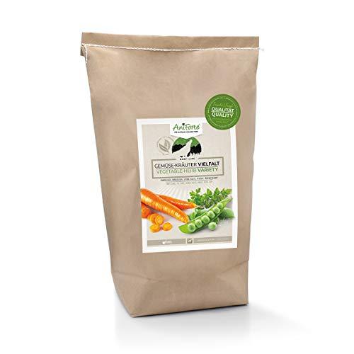 AniForte Barf Zusatz für Hunde Gemüse-Kräuter Vielfalt 5kg - Naturprodukt, Barf Ergänzungsfutter, getreidefrei, glutenfrei, Flocken ohne künstliche Zusätze, 100% Natur Ergänzung barfen, Futter