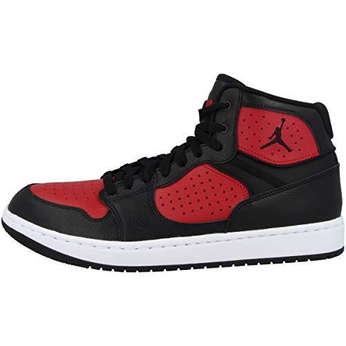 Nike Jordan Access, Scarpe da Basket Uomo, Multicolore Black Gym Red White 006, 42 EU