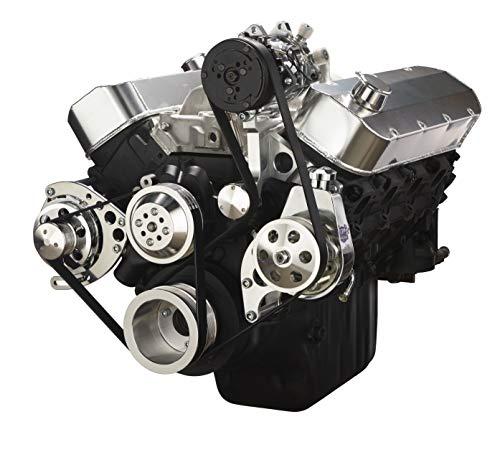 Chevy Big Bock Serpentine Kit - Alternator, Power Steering & A/C Applications