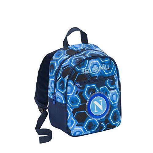 SSC NAPOLI Forza Napoli Kinder-Rucksack 32 centimeters Blau (Blue Deep)