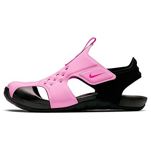 Nike Sunray Protect 2 (ps) Dusch-& Badeschuhe, Mehrfarbig (Psychic Pink/Laser Fuchsia/Black 602), 35 EU