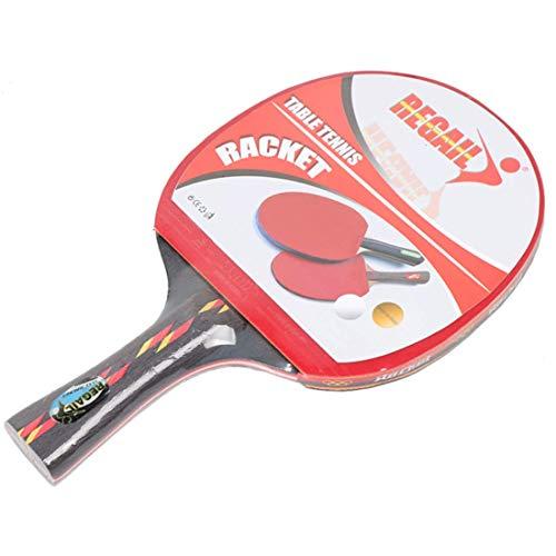 Fantastic Prices! HUATINGRHPP Ping Pong Ping Pong Paddle Table Tennis Balls Bats Shake Hands 1 Bat a...
