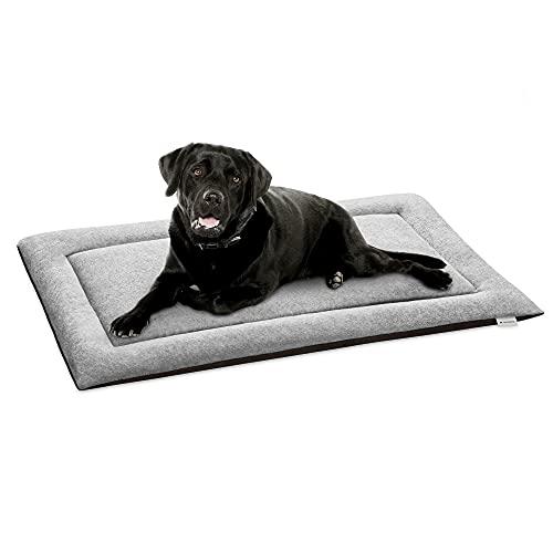 Navaris Cama de Viaje para Mascotas - Colchoneta Lavable de 79 x 48 CM para Perro y Gato - Cojín Grande para casa Coche Camping transportín Jaula