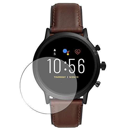 Vaxson 3 Stück Schutzfolie, kompatibel mit FOSSIL Gen 5 Smartwatch The Carlyle HR FTW4026, Bildschirmschutzfolie TPU Folie [nicht Panzerglas]