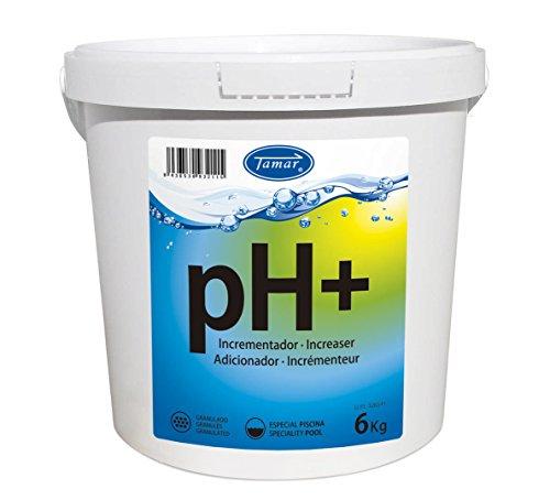Tamar - Incrementador pH Granulado, Bote de 6 Kilos.