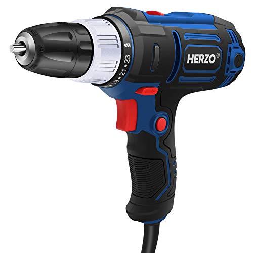 5. Taladro eléctrico Herzo 300W