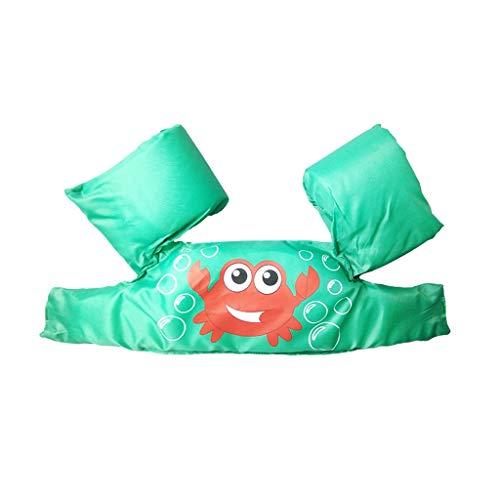 Schwimmringe Schwimmen Ring Schwimmen Ring Arm Ring Ärmel Kinder Schwimmen Ausrüstung Verdickung Float Mode Persönlichkeit Pool Spielzeuge (Color : Green)
