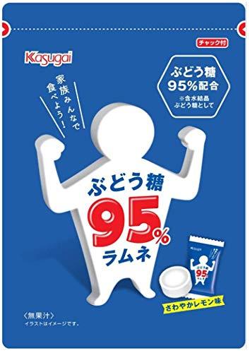 春日井製菓 ぶどう糖95% ラムネ 50g ×2袋