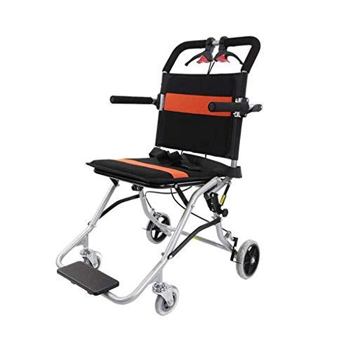 Y-L Ouderen gehandicapten Ouderen Rolstoel Ouderen Rolstoel Rolstoel Vouwen Lichtgewicht Ultralight Gemakkelijk Reizen Aluminium Kleine Kinderwagen, een, 90x52x68cm