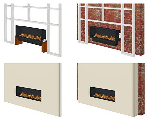 muenkel Design Wall FUEGO Electrónico – opti-myst elektrokamineinsatz: 700mm – Sin Calefacción