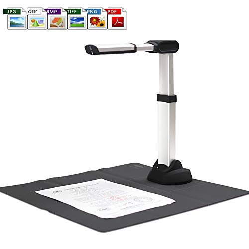 Check Out This DZ1000A3AF Portable USB Book Image Document Camera Scanner 10 Mega-Pixel HD Max A4 Sc...